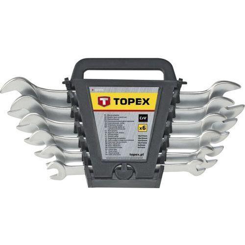 Zestaw kluczy płaskich TOPEX 35D657 (12 elementów) + DARMOWY TRANSPORT! (5902062044679)