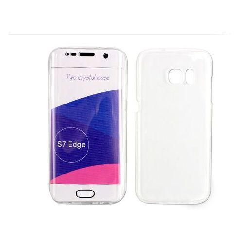Samsung Galaxy S7 Edge - etui na tablet Full Body Slim - przezroczysty, ETSM296FBSLCLR000
