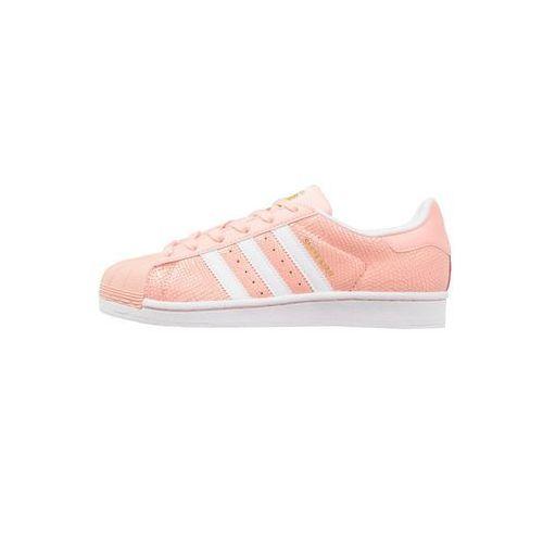 adidas Originals SUPERSTAR Tenisówki i Trampki haze coral/white, kolor czerwony