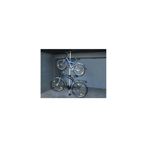 Wieszak stojak na 2 rowery ALU teleskopowy