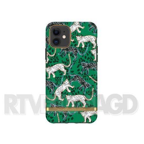 Richmond & finch green leopard - gold details iphone 11 (7350111350789)