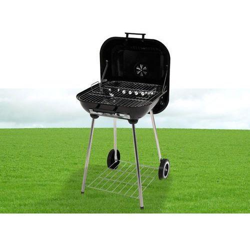 Toya Grill ogrodowy węglowy z pokrywą, 40x45 cm / 99580 / - zyskaj rabat 30 zł (5906083995804) - OKAZJE