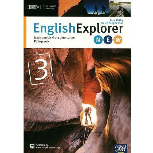 English Explorer 3 New. Gimnazjum. Język angielski. Podręcznik, Bailey Jane Helen Stephenson
