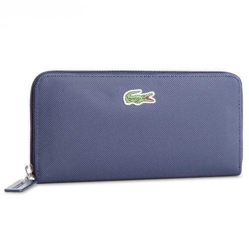 Lacoste Duży portfel damski - l zip wallet nf2285po eclipse 241