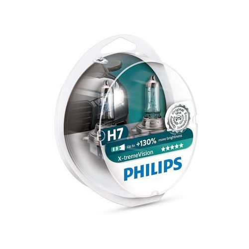 Zestaw 2x żarówka samochodowa x-tremevision 12972xv+s2 h7 px26d/55w/12v marki Philips