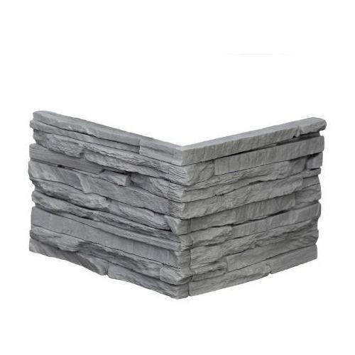 Max-stone kamień dekoracyjny płytka kątowa malezja szara ma2 opk. 1,25mb