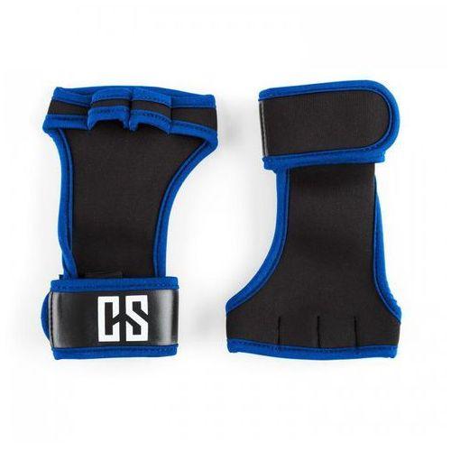 Palm Pro Rękawiczki do podnoszenia ciężarów Wielkość S czarne/niebieskie