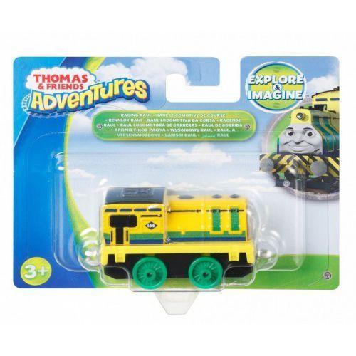 mała lokomotywa raul, tomek i przyjaciele adventures marki Fisher price