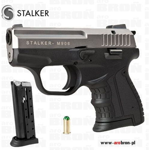 Pistolet alarmowy hukowy Stalker M906 TYTAN amunicja 6mm ruchomy zamek - Nowość - sprawdź w wybranym sklepie