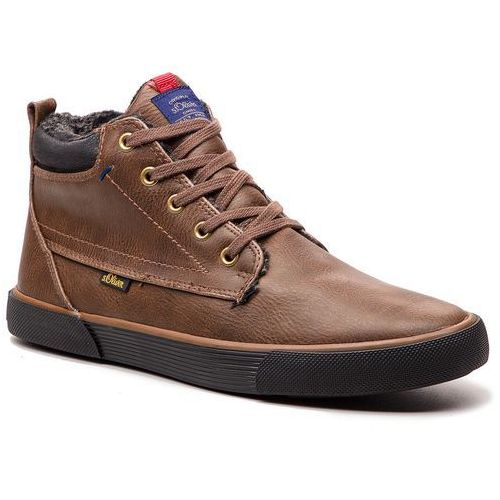 Sneakersy - 5-16230-21 brown 300, S.oliver, 41-45
