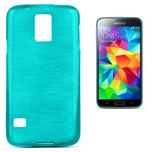 """Forcell """"jelly brush samsung galaxy s5 / galaxy s5 neo"""" (blue) (5901737289674)"""