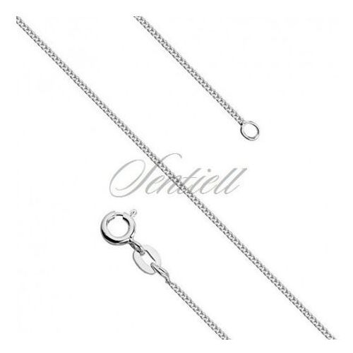 Silver (925) diamond-cut chain - curb Ø 027 weight from 1,05g - GSD027