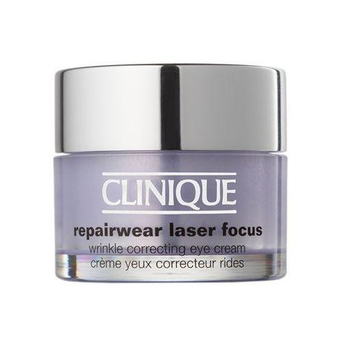 Clinique Repairwear Laser Focus przeciwzmarszczkowy krem pod oczy do wszystkich rodzajów skóry (Wrinkle Correcting Eye Cream) 15 ml