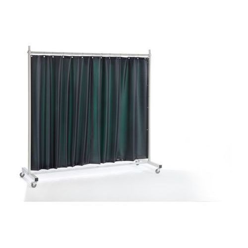 Quipo Ścianka ochronna dla spawacza premium, ruchoma,z zasłoną plandekową
