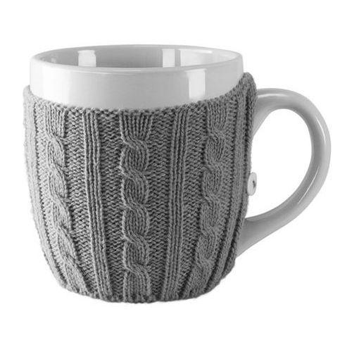 Czerwona papryczka design Duży kubek w sweterku- sweater cup
