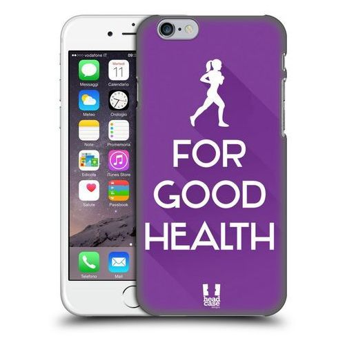 Etui plastikowe na telefon - Workout Inspirations Violet Run
