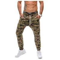 Moro-khaki spodnie dresowe joggery męskie Denley 0367, dresowe