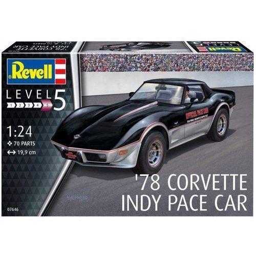 Revell Model plastikowy corvette indy pace 78 car