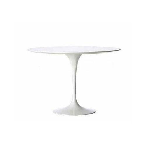 D2.design Stół fiber o120 biały mdf (5902385713252)