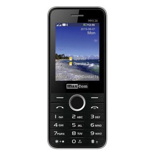 Maxcom Telefon mm136 czarny
