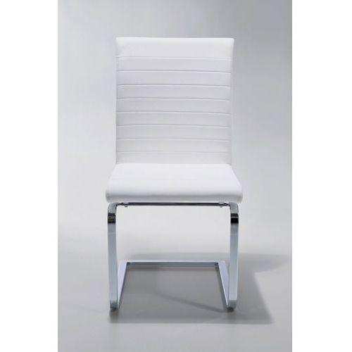 :: krzesło swinger comodita white - kare design:: krzesło swinger comodita white ||biel marki Kare design