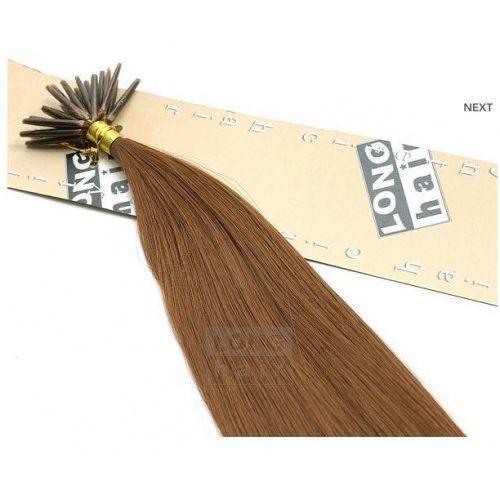 Włosy na zgrzewy syntetyczne - Kolor: #30 - 20 pasm, 8277