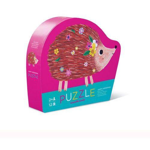 Crocodile creek Puzzle szczęśliwy jeż 12 (0732396411329)