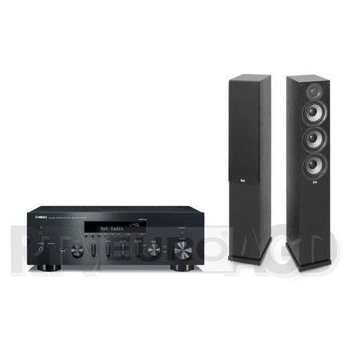 Yamaha musiccast r-n602 (czarny), elac debut 2.0 f5.2 (czarny) (0000001171829)