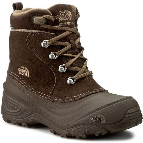Śniegowce THE NORTH FACE - Youth Chilkat Lace II T92T5RRE2 Demitasse Brown/Cub Brown