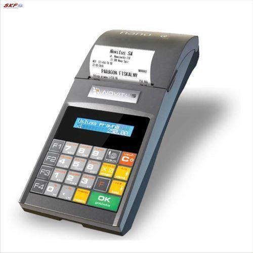 Kasa fiskalna novitus nano e /lex/ wyprodukowany przez Comp sa, ul. jutrzenki 116, 02-230 warszawa oddział nowy sącz, novitus - centrum technologii sprzedaży