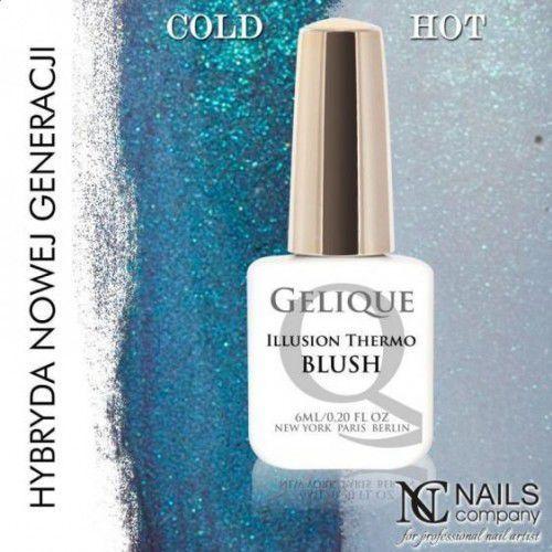 Nails Company GELIQUE ILLUSION THERMO BLUSH 6ML - Żel hybrydowy, 41208