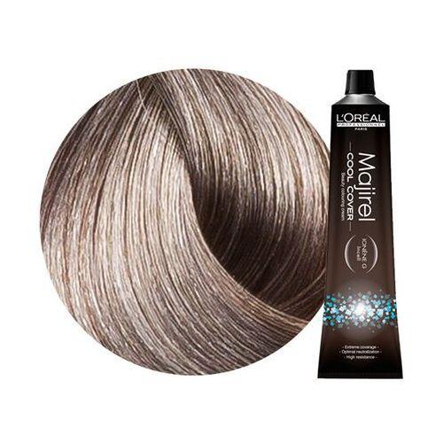 Loreal Majirel Cool Cover | Trwała farba do włosów o chłodnych odcieniach - kolor 8.1 jasny blond popielaty 50ml (3474630575592)