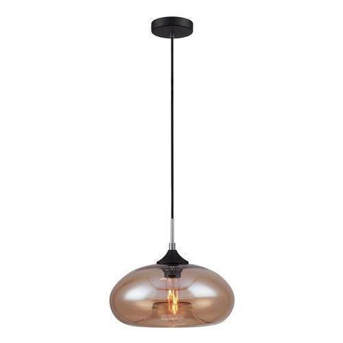 Skandynawska LAMPA wisząca VALIO MDM2093/1 B Italux szklana OPRAWA zwis szkło przezroczyste (5900644405245)