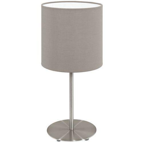 Eglo Lampa stołowa pasteri z kloszem taupe - 14 cm, 95726