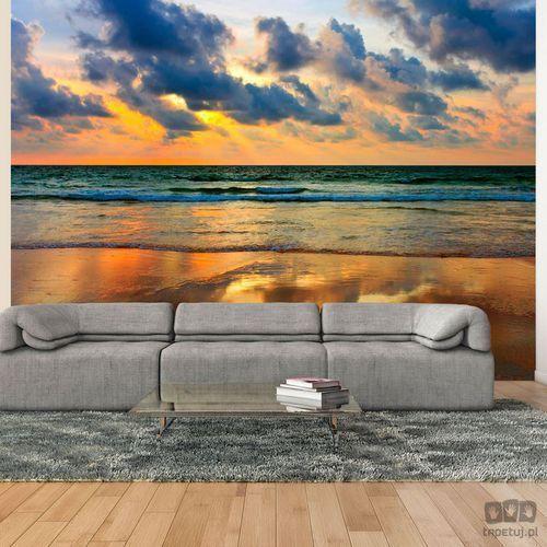 Fototapeta Kolorowy zachód słońca nad morzem 100403-174