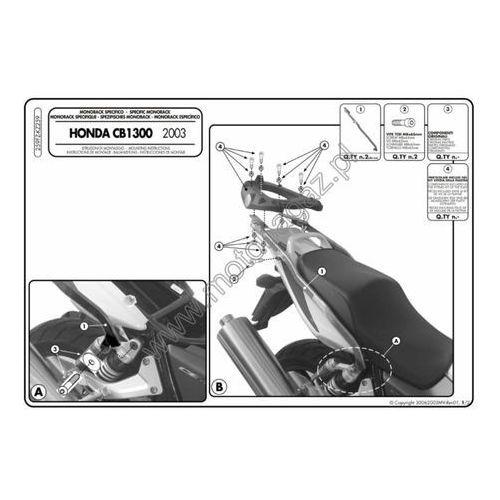 Stelaż pod kufer centralny do honda cb1300 [03-09] -  259fz (zgodny z kappa kz259) marki Givi