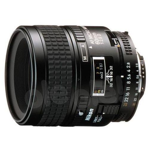 Nikon  af 60mm f/2,8 d micro-nikkor - produkt w magazynie - szybka wysyłka! (0018208019878)