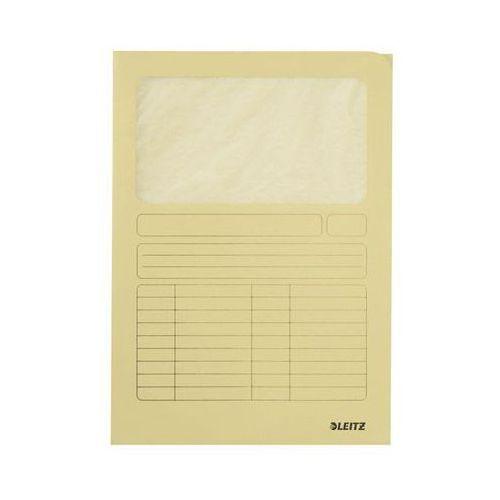 Ofertówka kartonowa z okienkiem Leitz A4 3950 żółta