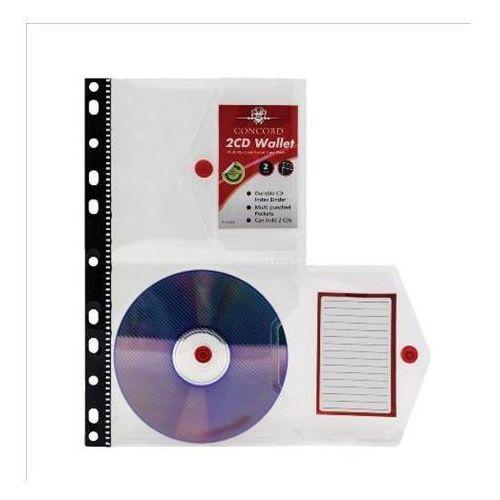 Koszulka na cd/dvd concord a4, X09501