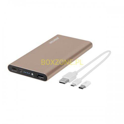 Avacom , power bank, pwrb-100a-qc, li-pol, do ładowania telefonów i innych urządzeń, 10000mah, qc 3.0(3,6-6,5v/3a lub 6,5-9v/2a lub