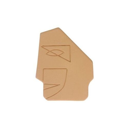 HKliving Ozdoba ścienna maska musztardowa mat rozmiar S AWD8885