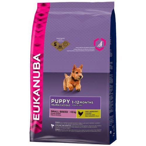 Eukanuba puppy junior small breed 2x7,5kg (8710255120874)