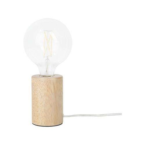 Lampa stołowa drewniana 12 cm GANDARA