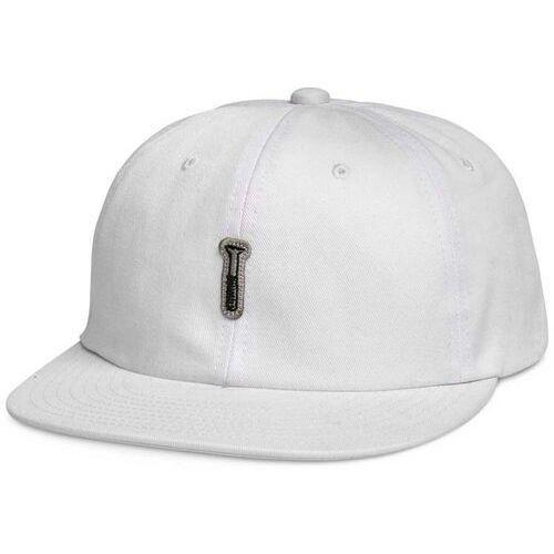 czapka z daszkiem DIAMOND - Fasten Unstructured 6 Pan Stra White (WHT) rozmiar: OS