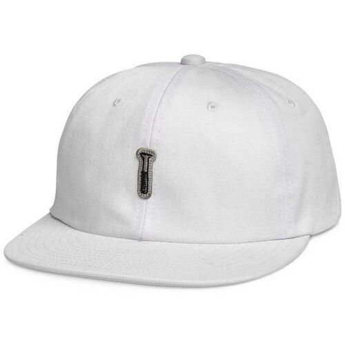 Czapka z daszkiem - fasten unstructured 6 pan stra white (wht) marki Diamond