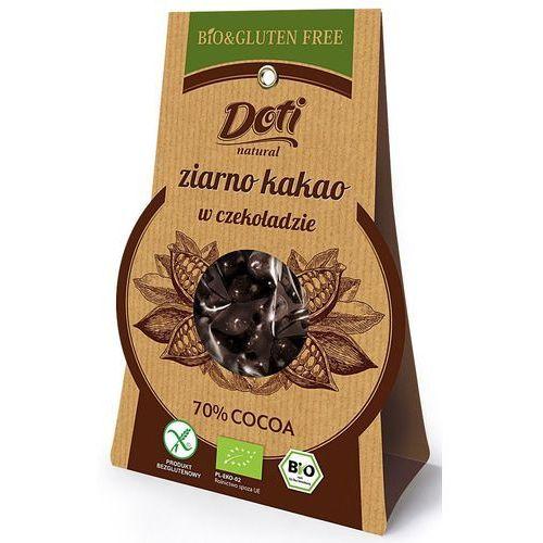 Doti Surowe ziarno kakao w czekoladzie deserowej bio 50g. - (5906153203365)