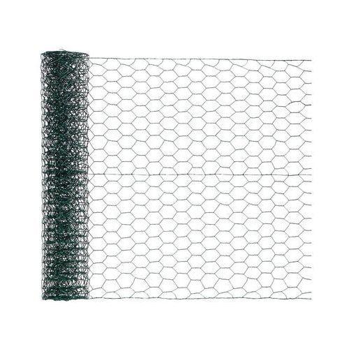 Siatka heksagonalna 0.5 x 5 m zielona (3276005169838)