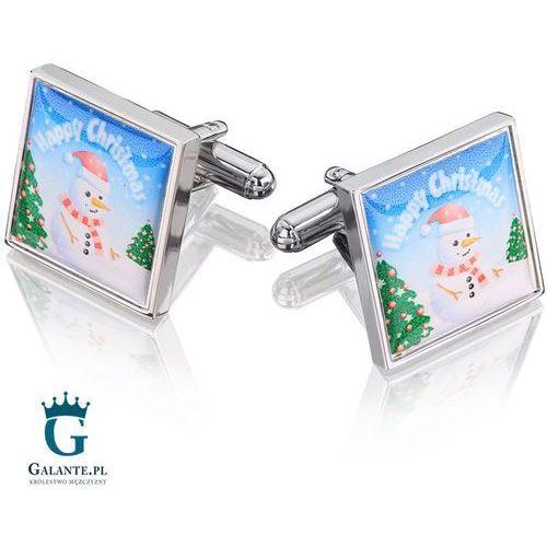 Spinki do mankietów Świąteczne Merry Christmas PS-380, PS-380/095