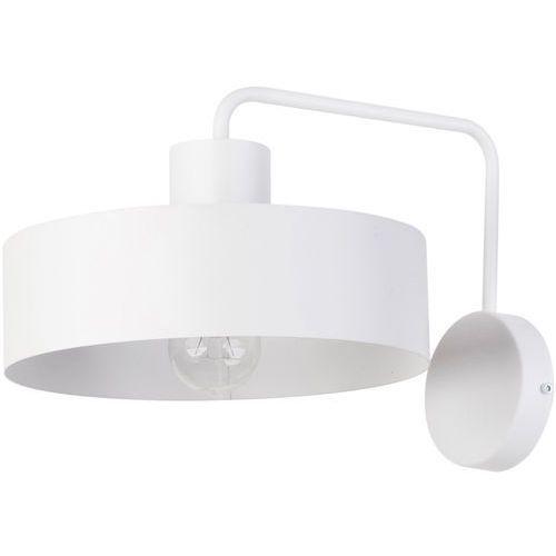 Sigma Kinkiet lampa ścienna vasco 31556 metalowa oprawa okrągła na wysięgniku biała