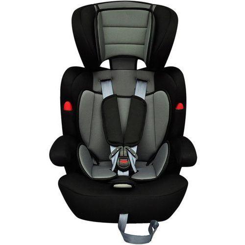 vidaXL Fotelik samochodowy, kategoria I II III (9-36 kg), Czarno-szary - produkt z kategorii- Foteliki grupa II i III